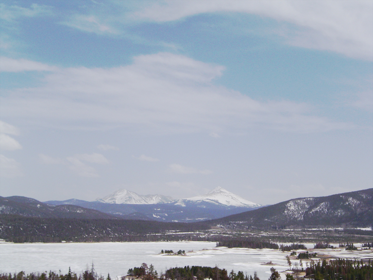 frozen lake place